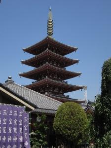 Shrine in Tokyo, Japan
